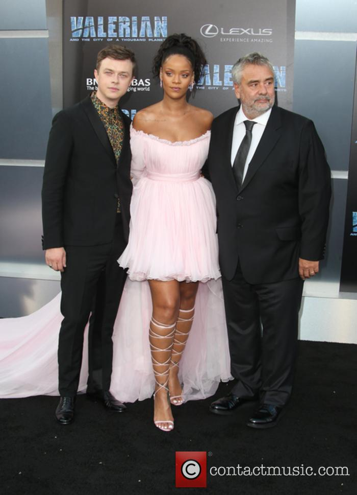 Dane Dehaan, Rihanna and Luc Besson 6