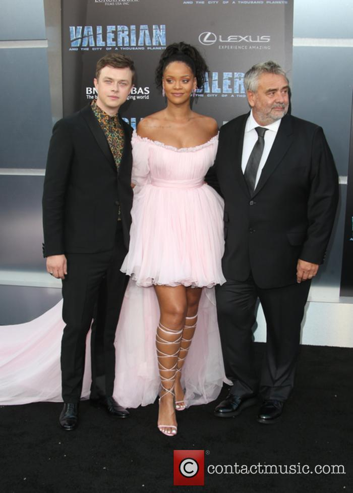 Dane Dehaan, Rihanna and Luc Besson 7