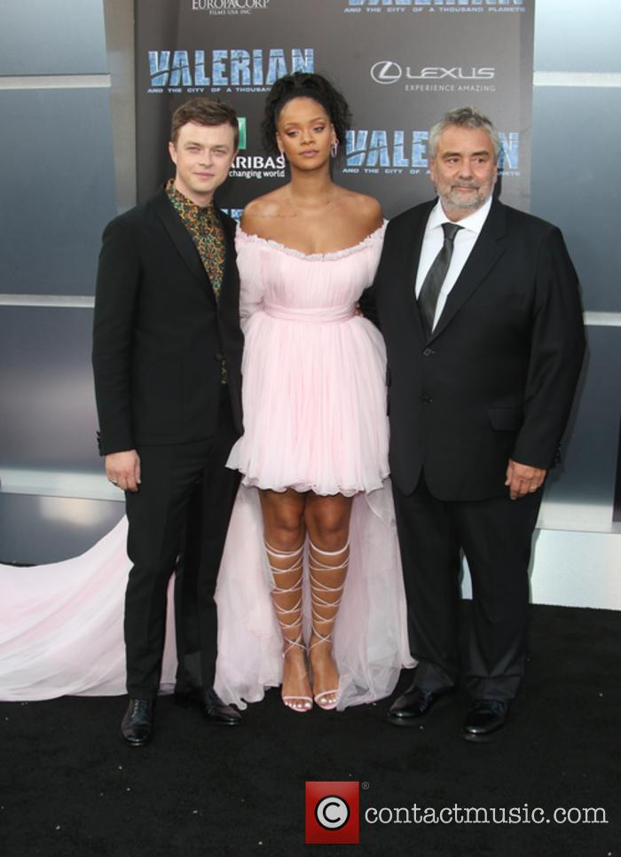 Dane Dehaan, Rihanna and Luc Besson 8