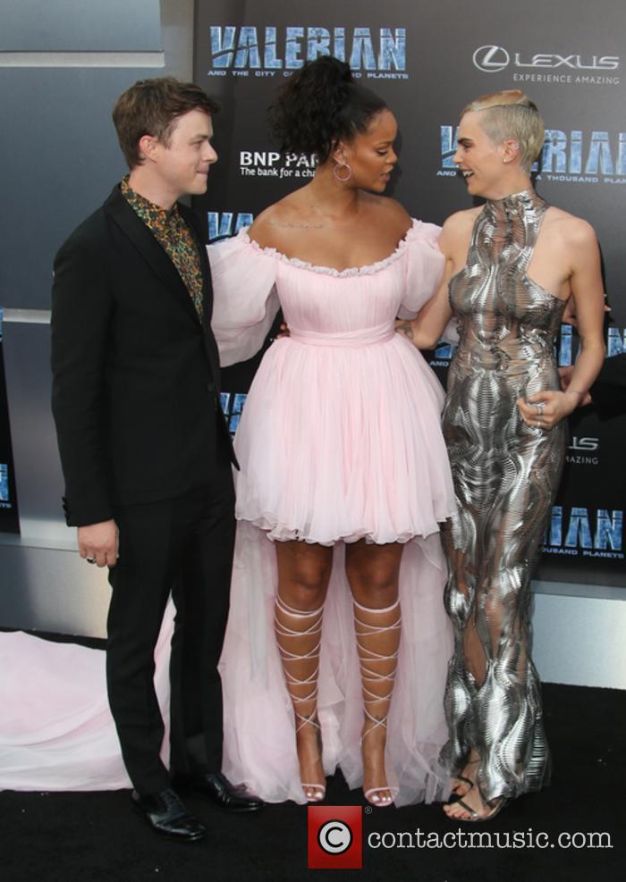 Dane Dehaan, Rihanna and Cara Delevingne 9