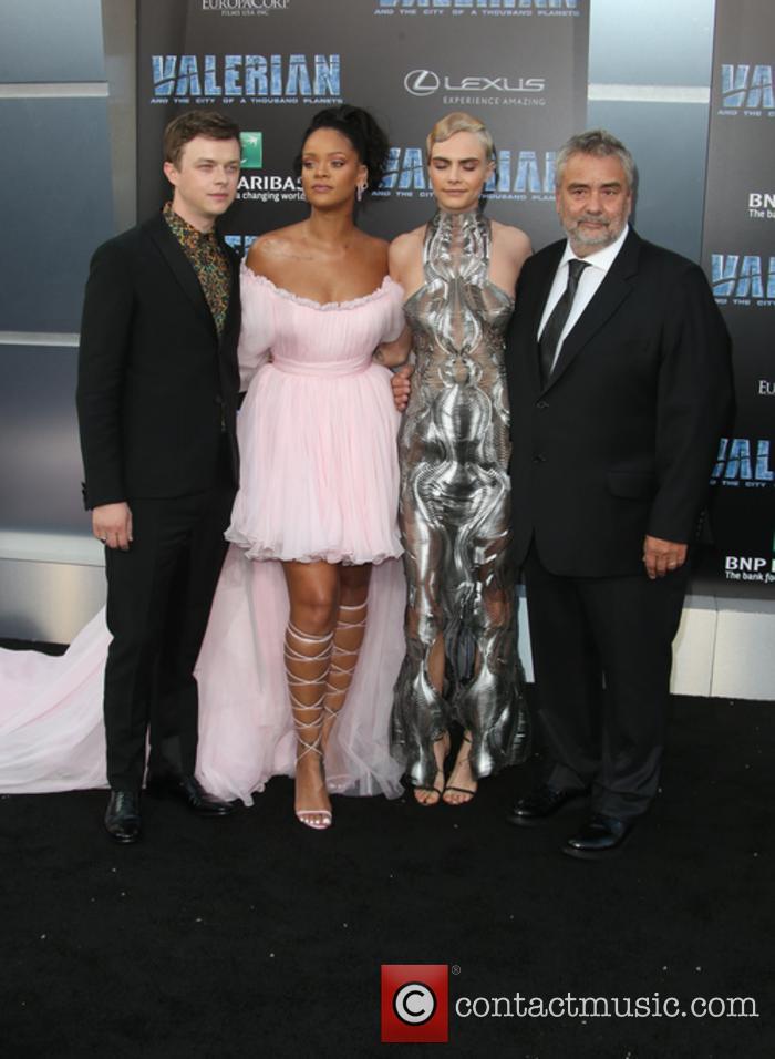 Dane Dehaan, Rihanna, Cara Delevingne and Luc Besson 11