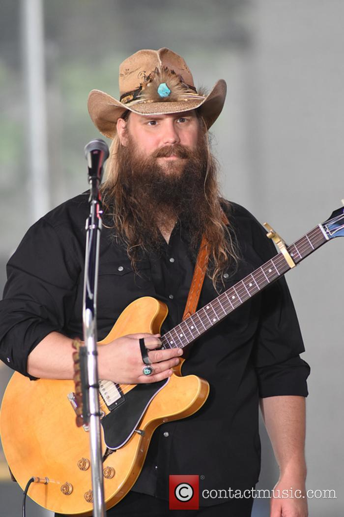 Chris Stapleton performs at The Today Show