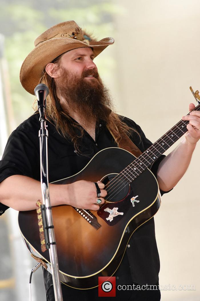 Chris Stapleton performing on the today show