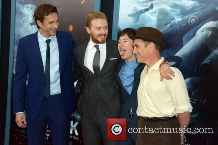 James Darcy, Jack Lowden, Barry Keoghan and Mark Rylance 3