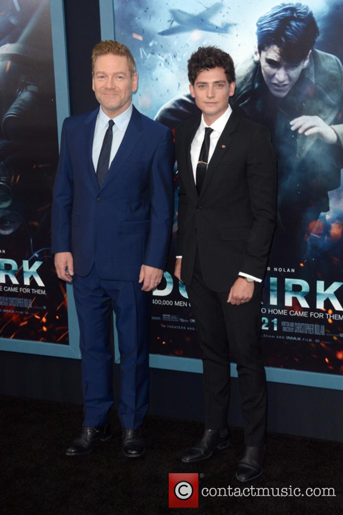 Kenneth Branagh and Aneurin Barnard 1