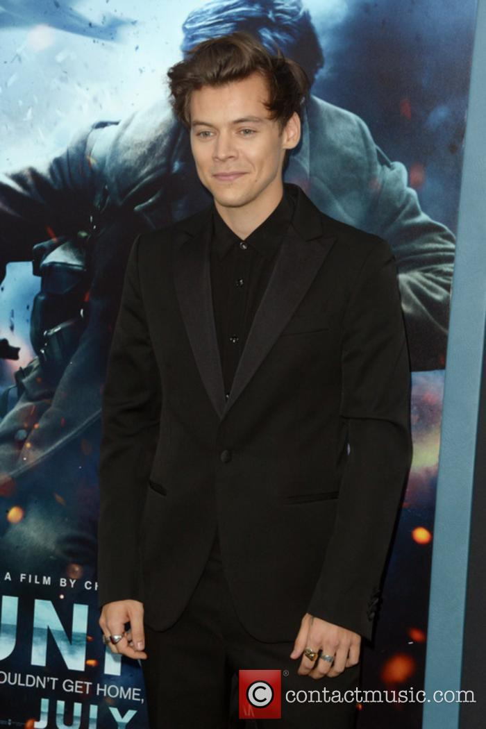 Harry Styles at 'Dunkirk' premiere