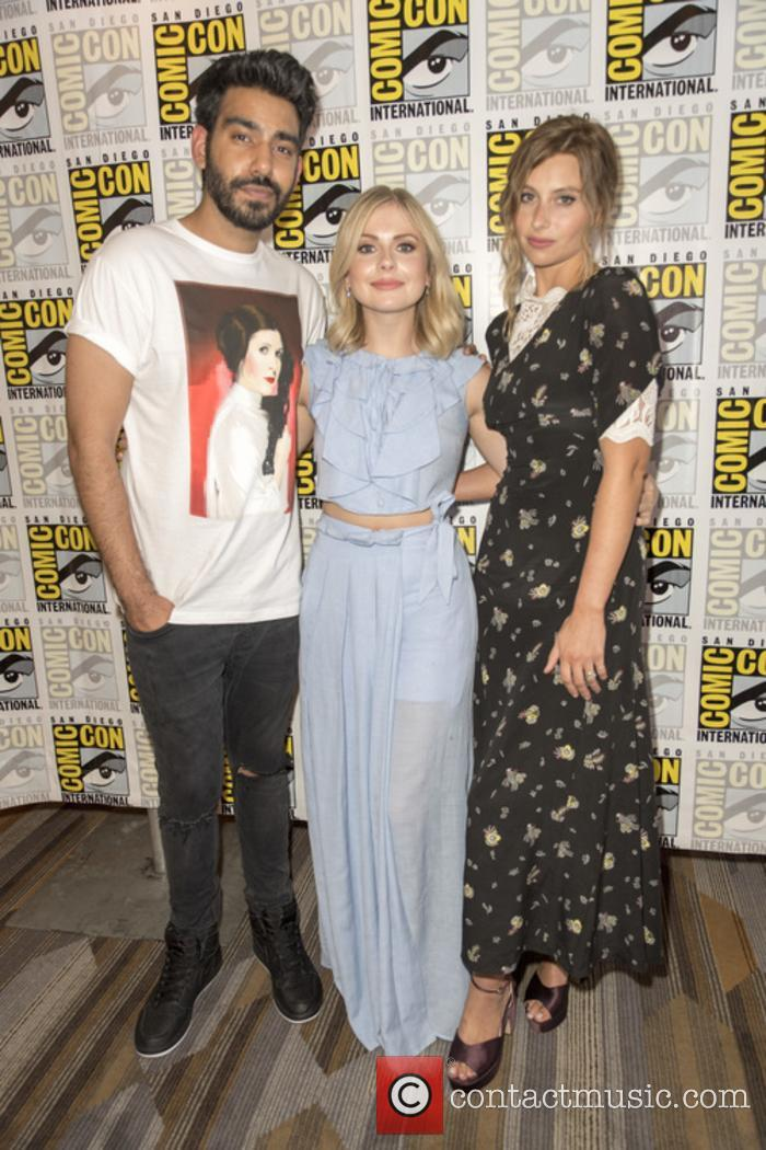 Rahul Kohli, Rose Mciver and Aly Michalka