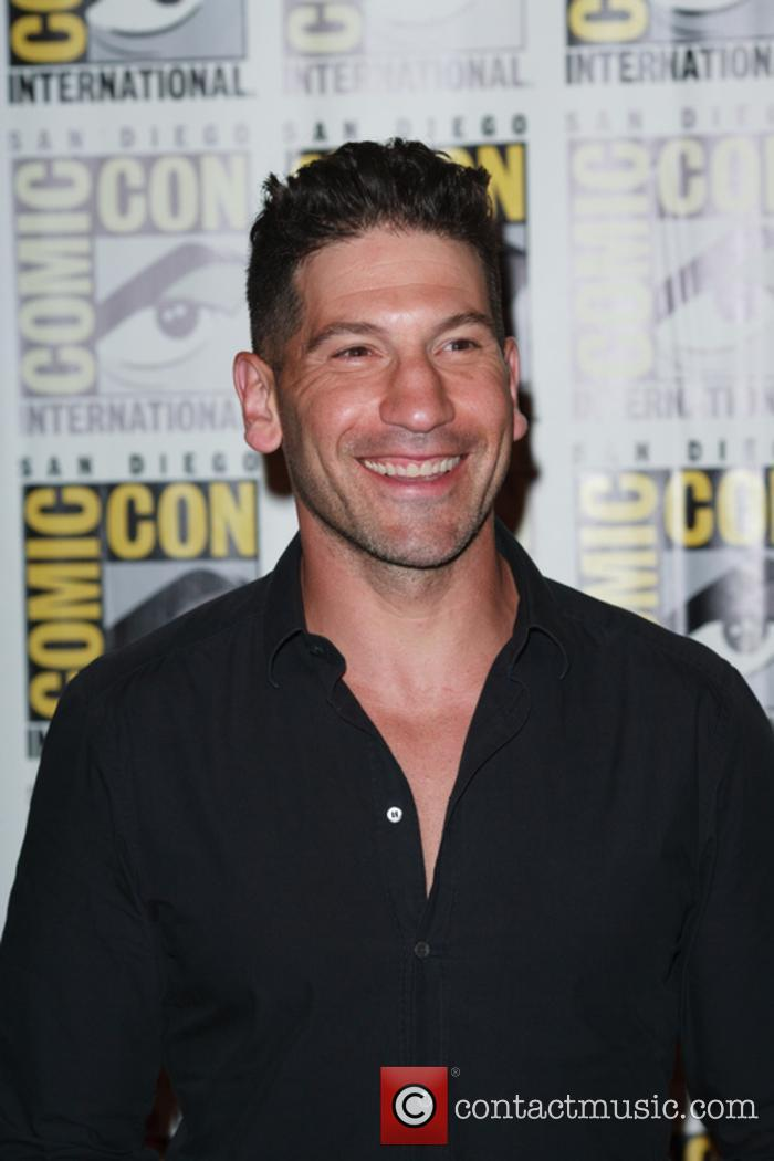 'The Punisher' lead star Jon Bernthal at San Diego Comic Con