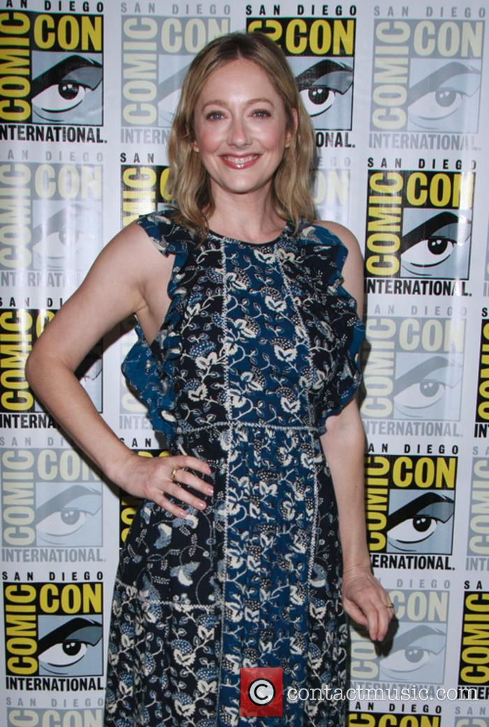 Judy Greer at San Diego Comic Con