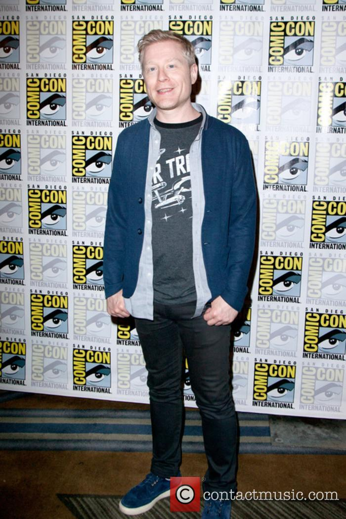 Anthony Rapp at San Diego Comic Con