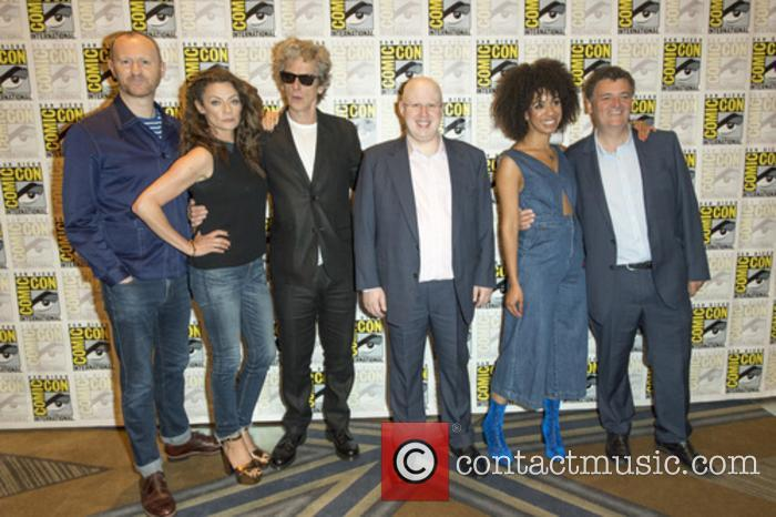 The cast of 'Doctor Who' at Comic Con 2017