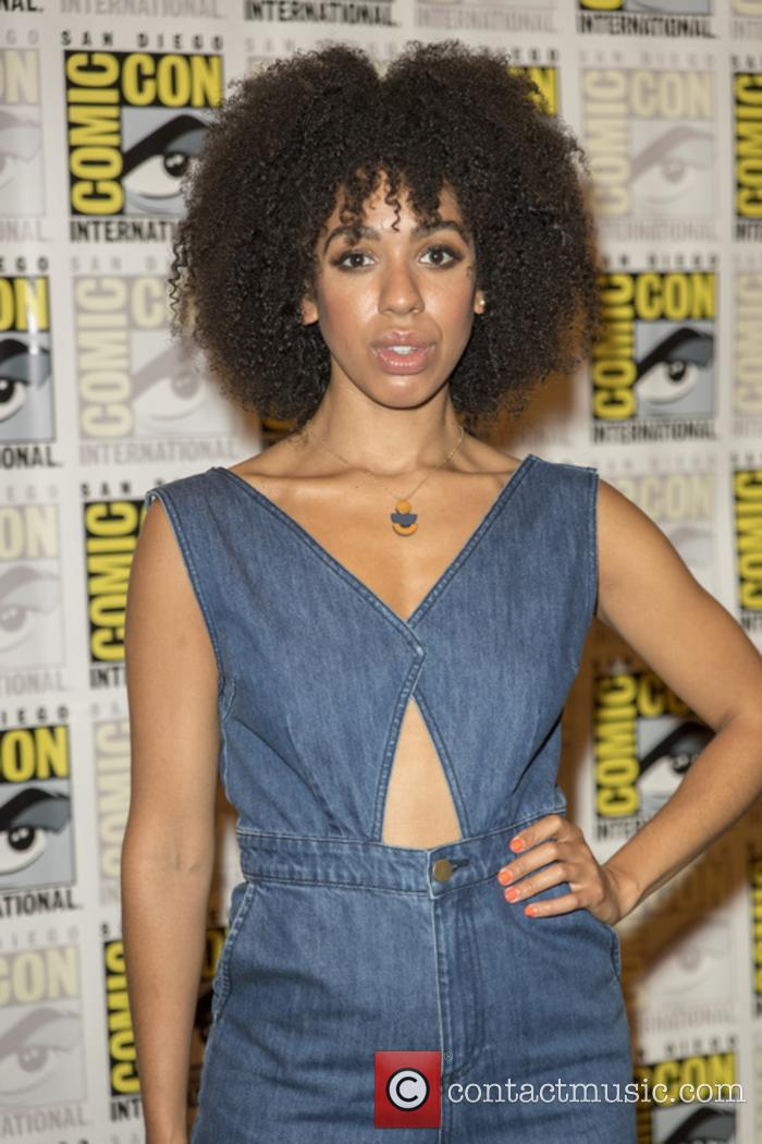 Pearl Mackie at San Diego Comic-Con earlier this year
