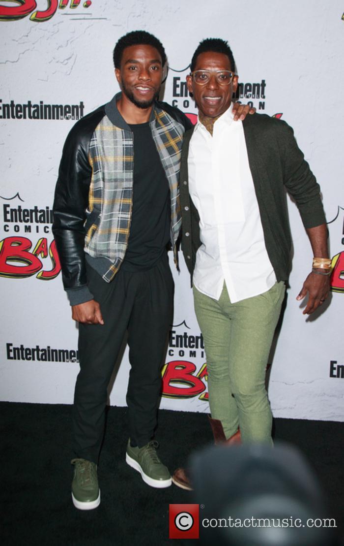 Chadwick Boseman and Orlando Jones 1