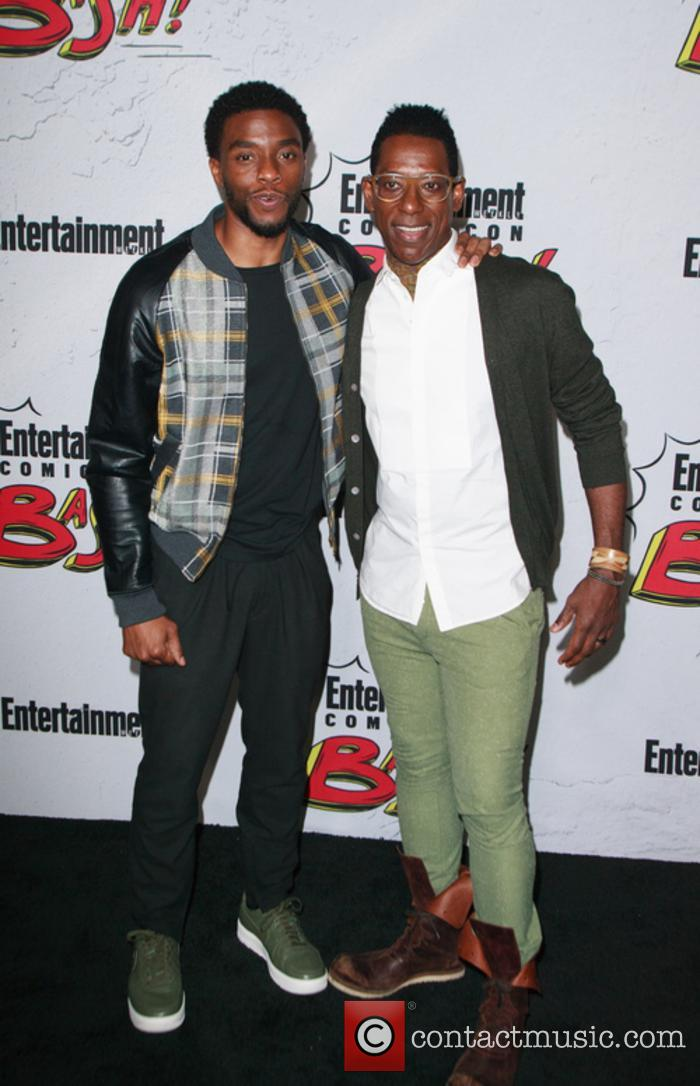 Chadwick Boseman and Orlando Jones 2