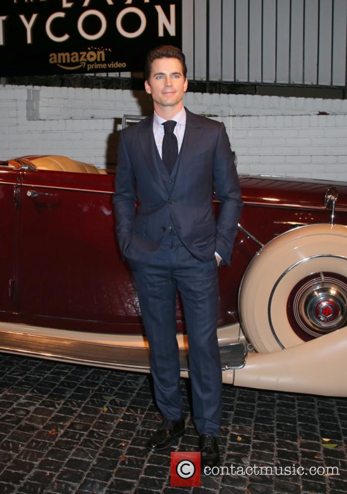 Matt Bomer at 'The Last Tycoon' season premiere after-party
