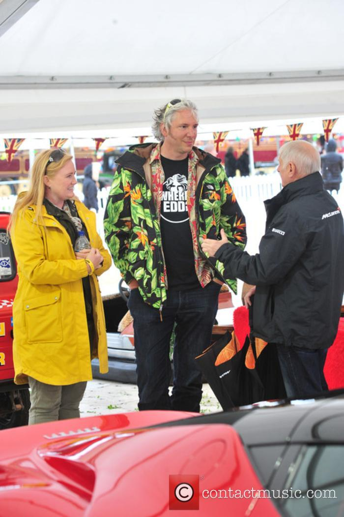 Chris Evans and Edd China