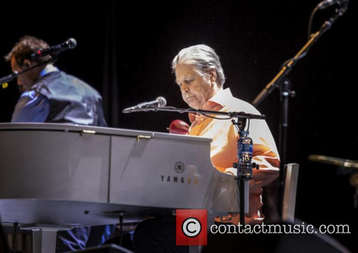 Brian Wilson Performing at Liverpool Exhibition Centre