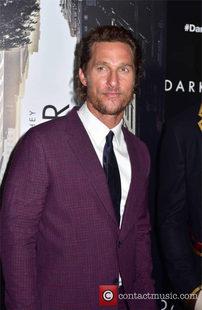 Matthew McConaughey at 'The Dark Tower' premiere