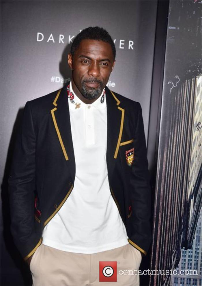 Idris Elba at 'The Dark Tower' premiere