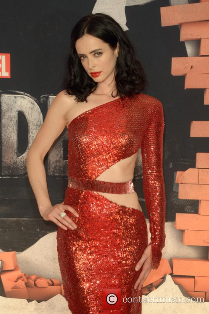 Krysten Ritter at the premiere of 'The Defenders'
