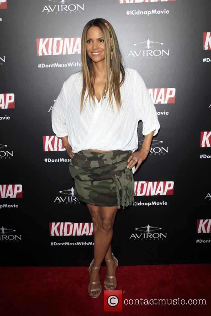 Halle Berry at the premiere for 'Kidnap'