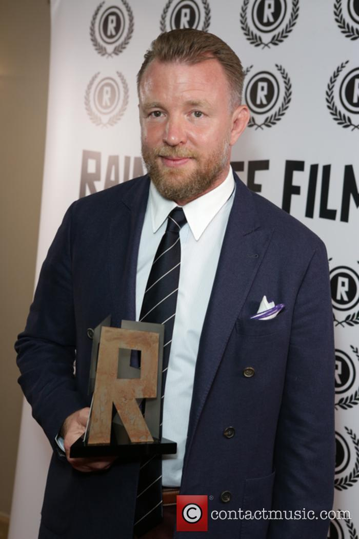 Guy Ritchie serves as director on the live-action 'Aladdin'