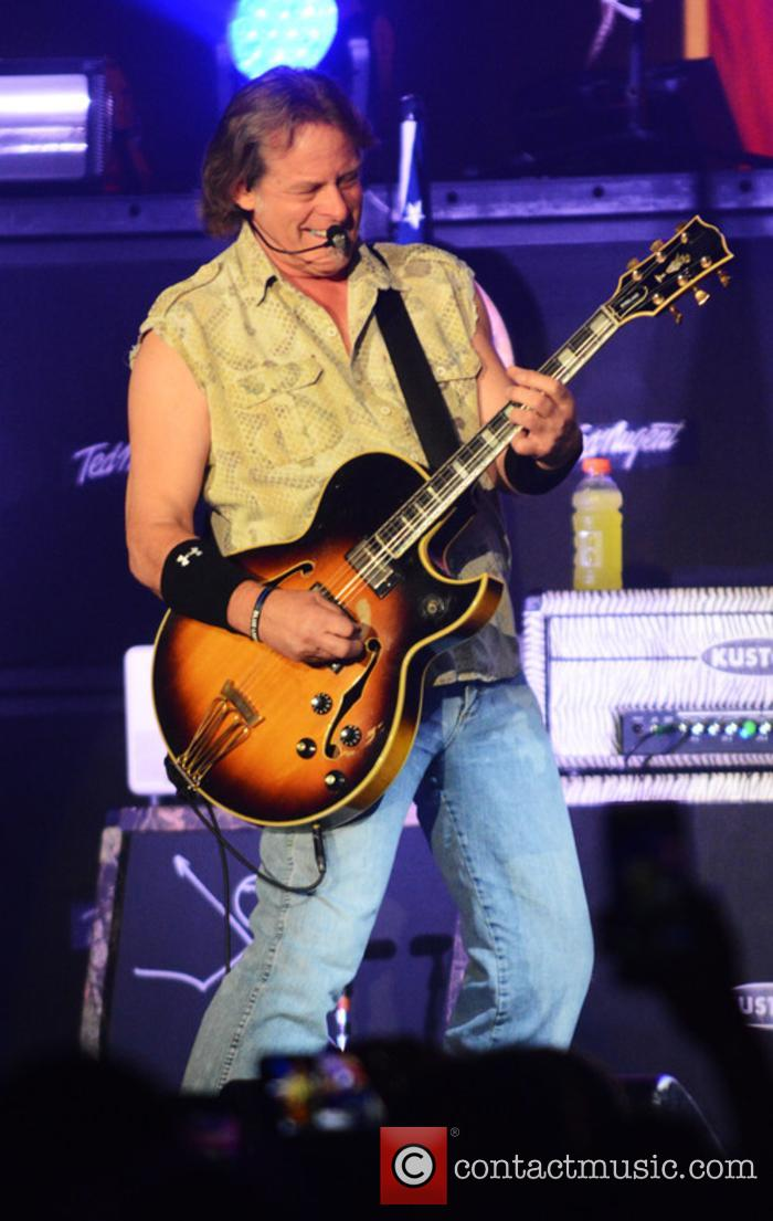 Ted Nugent performs at the Paramount Theater