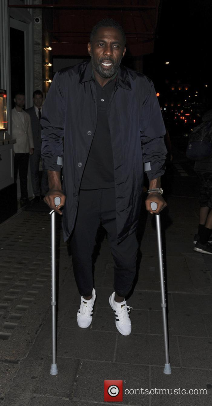 Idris Elba was seen a little worse for wear earlier this year, but soldiered on in true fashion