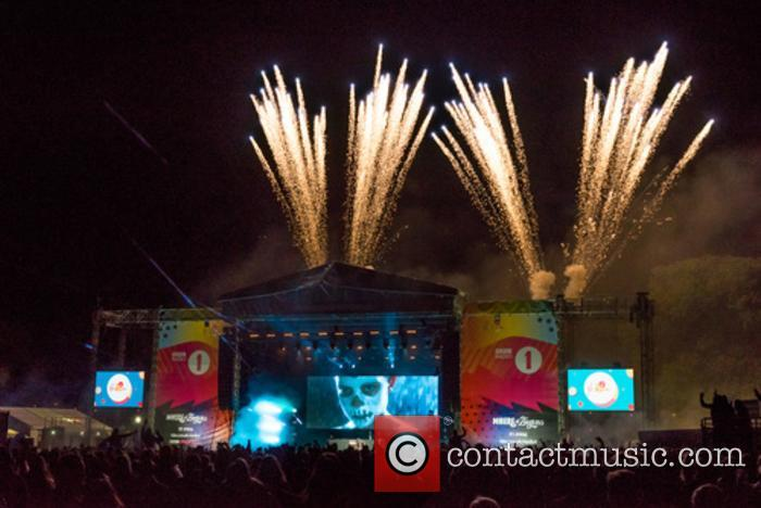 Chase and Status close day 1 V Festival...