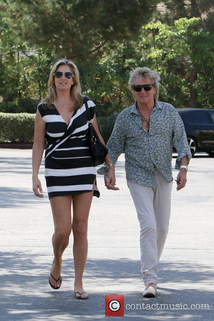 Rod Stewart and Penny Lancaster 8