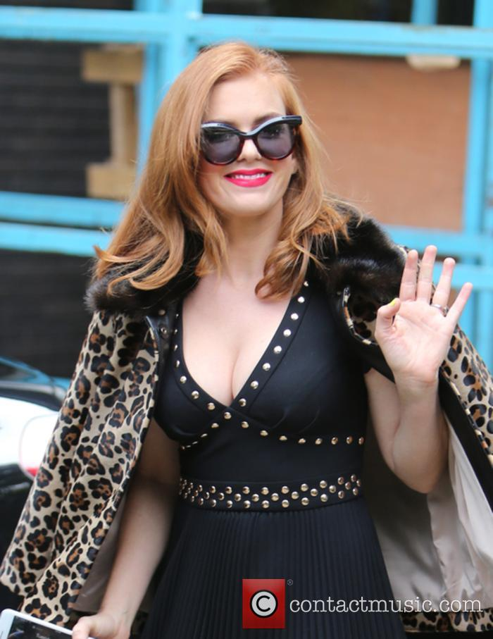 Isla Fisher at the ITV Studios