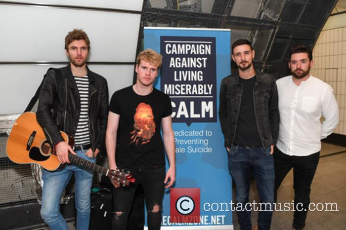 Kodaline, Steve Garrigan, Vinny May, Jr., Jason Boland and Mark Prendergast 1