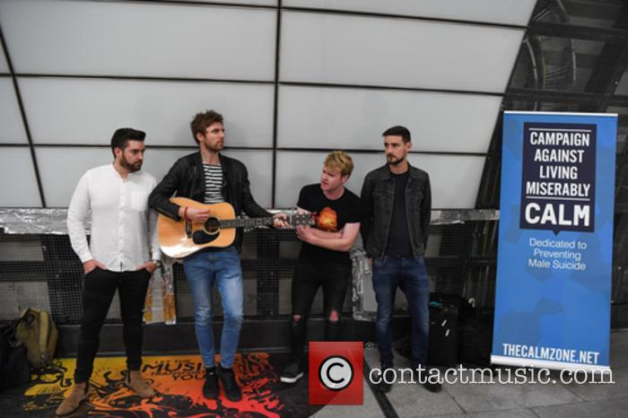 Kodaline, Steve Garrigan, Vinny May, Jr., Jason Boland and Mark Prendergast 2