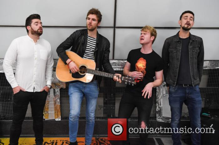 Kodaline, Steve Garrigan, Vinny May, Jr., Jason Boland and Mark Prendergast 3