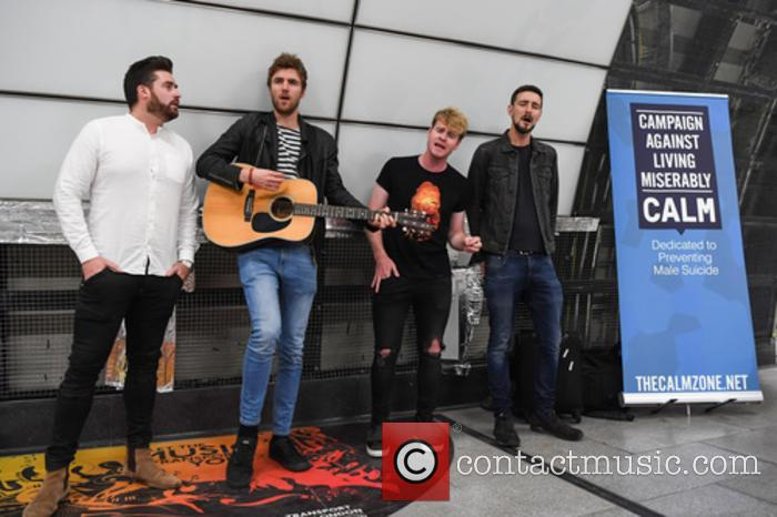 Kodaline, Steve Garrigan, Vinny May, Jr., Jason Boland and Mark Prendergast 4