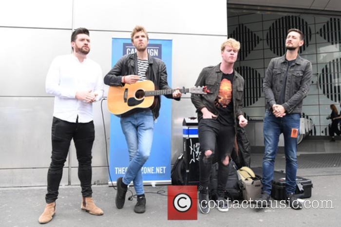 Kodaline, Steve Garrigan, Vinny May, Jr., Jason Boland and Mark Prendergast 5