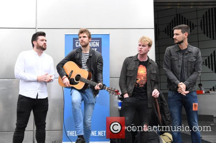 Kodaline, Steve Garrigan, Vinny May, Jr., Jason Boland and Mark Prendergast 6