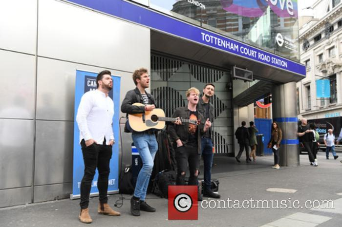 Kodaline, Steve Garrigan, Vinny May, Jr., Jason Boland and Mark Prendergast 7