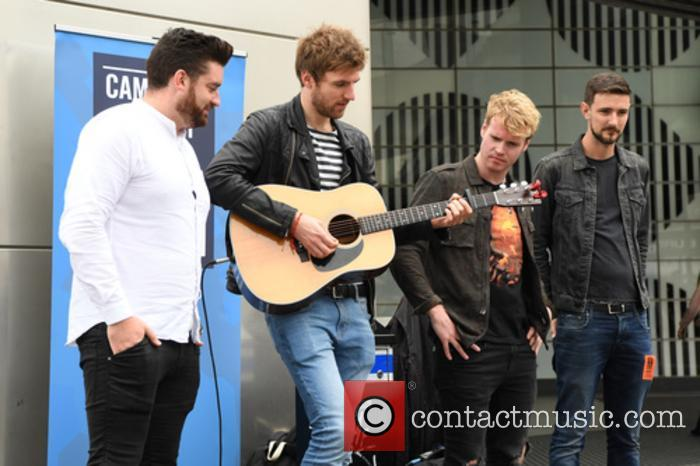 Kodaline, Steve Garrigan, Vinny May, Jr., Jason Boland and Mark Prendergast 8