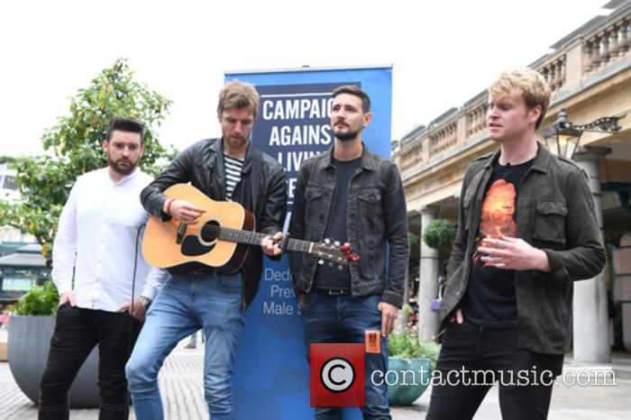 Kodaline, Steve Garrigan, Vinny May, Jr., Jason Boland and Mark Prendergast 11