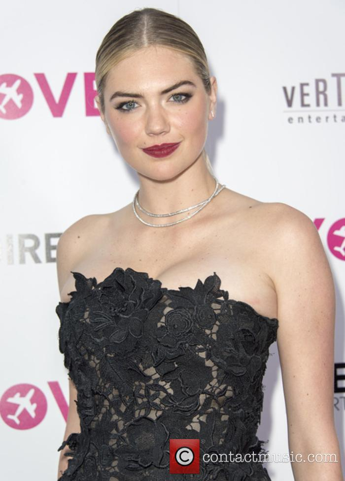 Kate Upton at 'The Layover' premiere