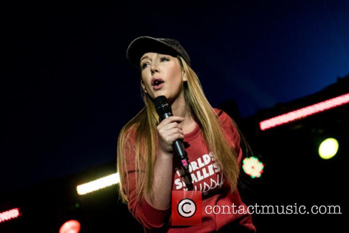 Kathryn Ryan performs at Leeds Festival