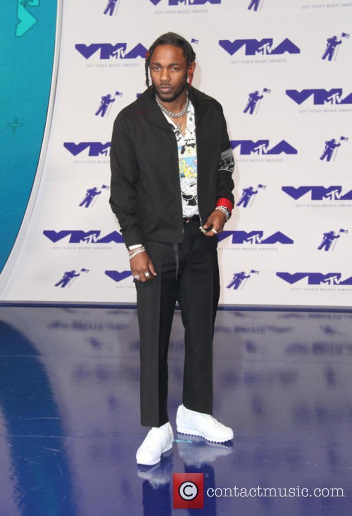 Kendrick Lamar at the MTV VMAs