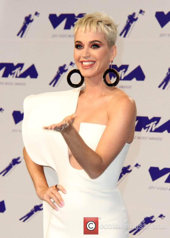 Katy Perry at the MTV VMAs