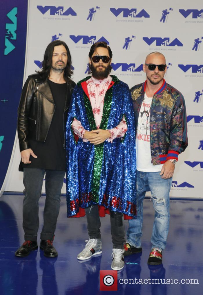 30 Seconds To Mars at the MTV VMAs