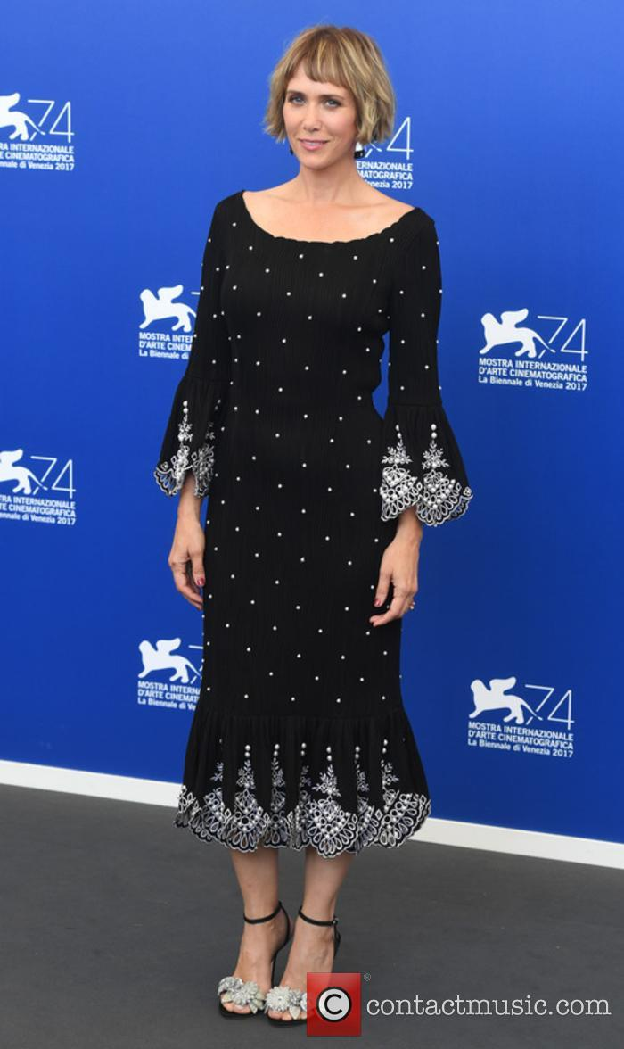 Kristen Wiig at a 'Downsizing' photocall