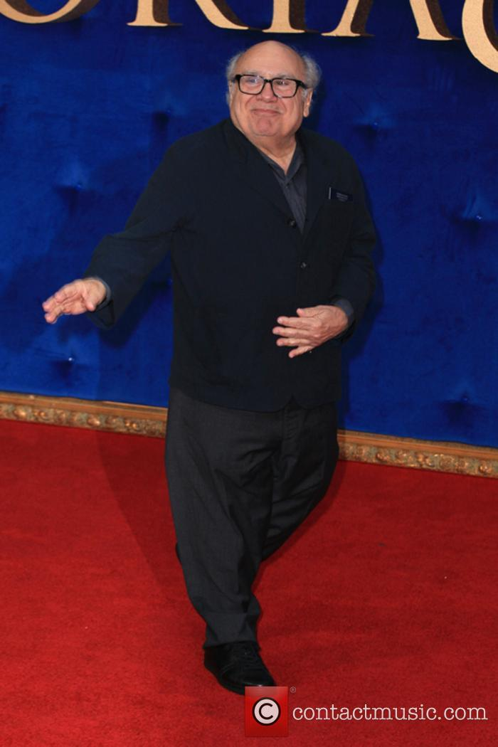 Danny DeVito at the premiere of Victoria and Abdul