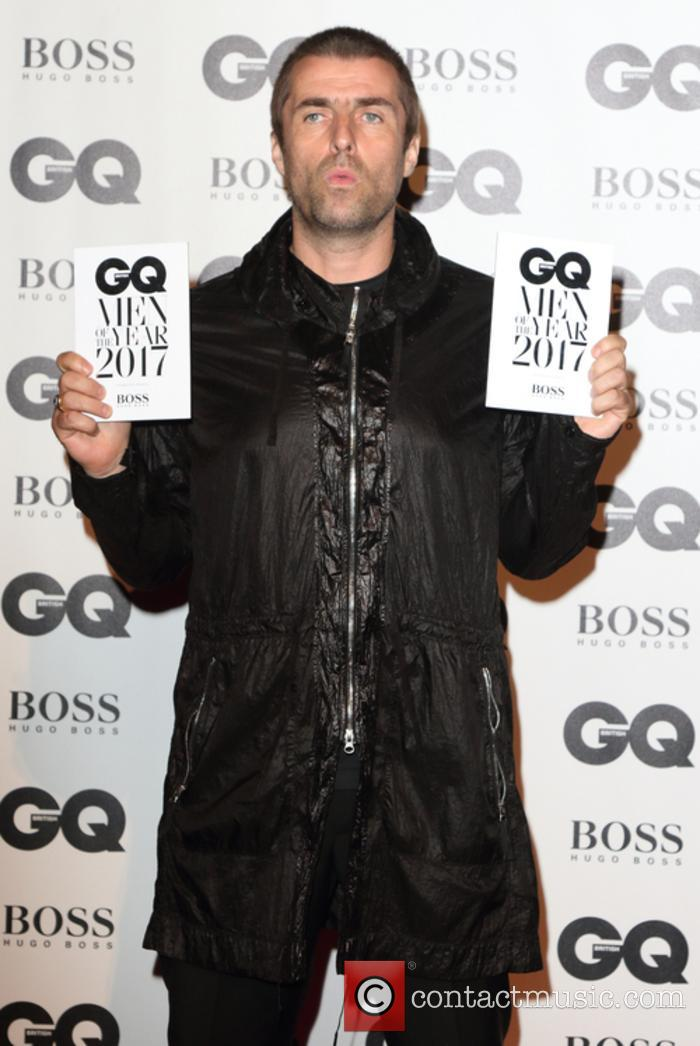 Liam Gallagher at the GQ Men of the Year Awards