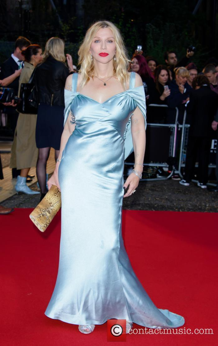 Courtney Love at the GQ Men of the Year Awards
