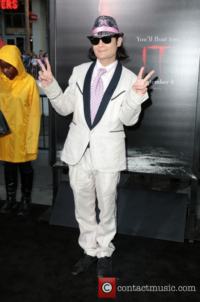 Corey Feldman at the premiere of 'It'